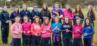 Last Seasons U14 Camogie Championship Finalists Receive Medals