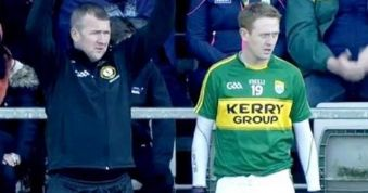Bowtie keeps an eye on Kerry's Colm Cooper
